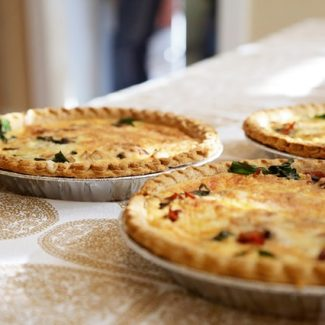 Family Quiches - Serve 4